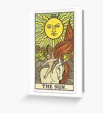 Tarot - The Sun Greeting Card