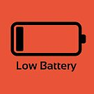 Low battery / Funny & Cool / loading bar by badbugs