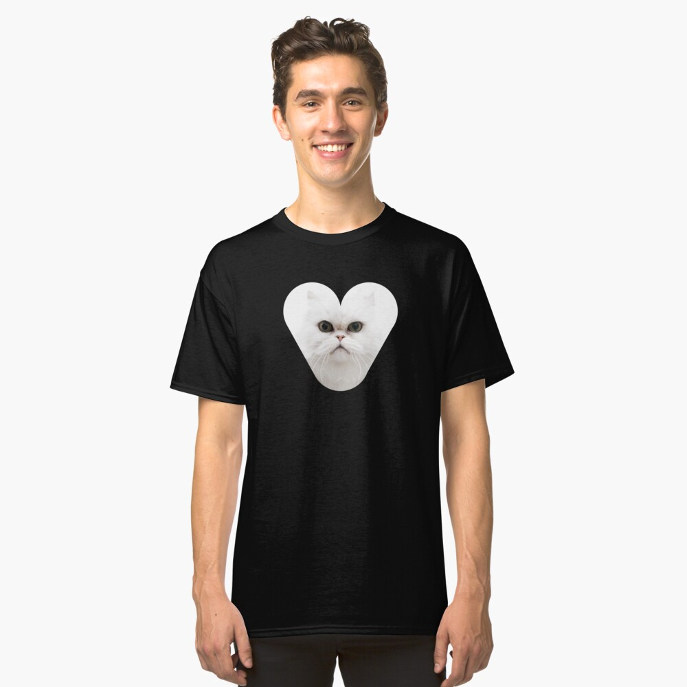 Purrfect The Cat Classic T-Shirt Front