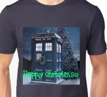 Doctor who Christmas style TARDIS  Unisex T-Shirt