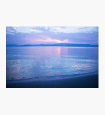 Morning sea-mirror Photographic Print