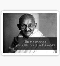 Mahatma Gandhi. Sticker