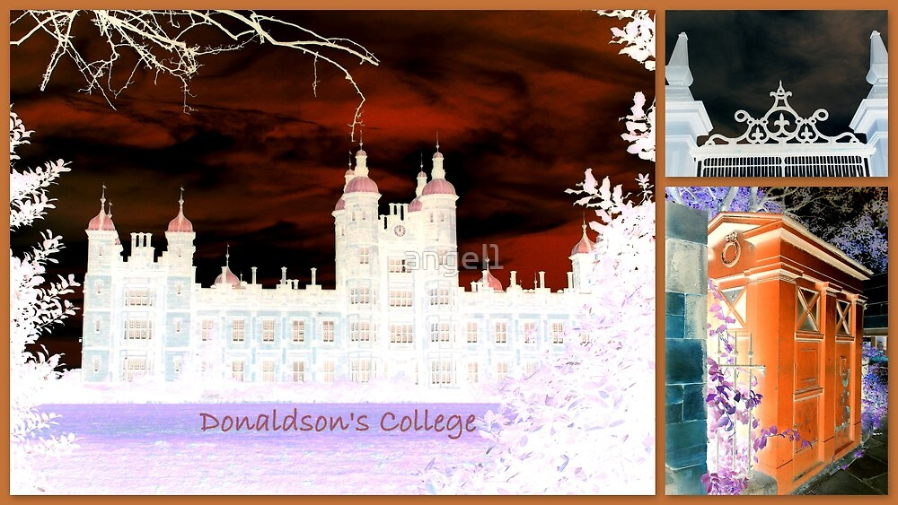Donaldson's College ~ Corstorphine Edinburgh by ©The Creative  Minds