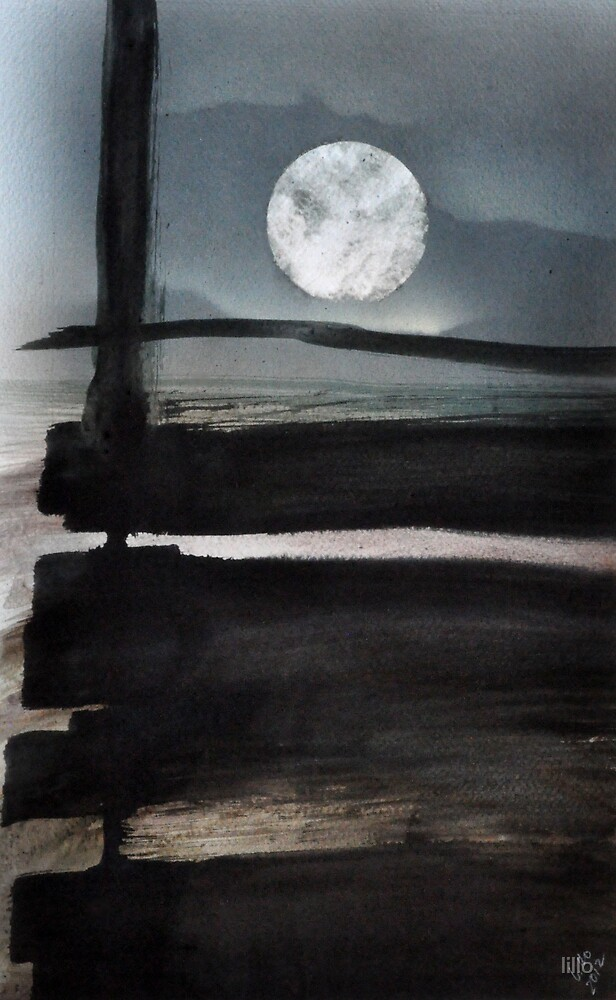 The moon beyond by lillo