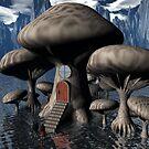 Mushroom House by Dreamscenery