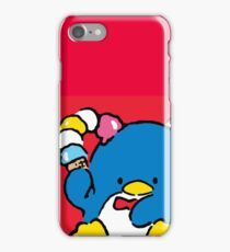 Penguin Sam with Ice Cream iPhone Case/Skin
