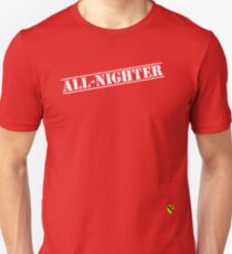 Rave Veteran - All Nighter - White Unisex T-Shirt