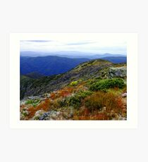 Summer at Mount Buller Victoria Art Print