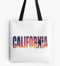 Vintage Filtered California Postcard Tote Bag