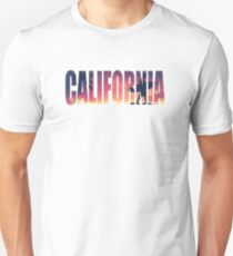 Vintage Filtered California Postcard Unisex T-Shirt