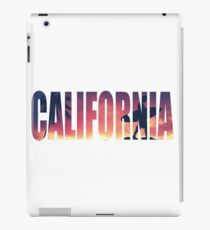 Vintage Filtered California Postcard iPad Case/Skin