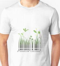 Green Barcode Unisex T-Shirt
