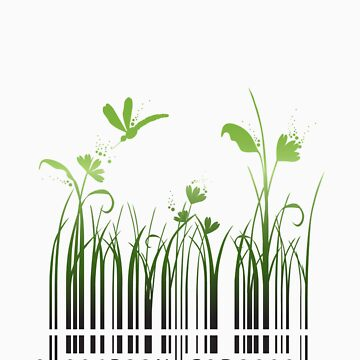 Green Barcode by elenab