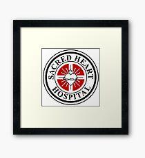 Sacred Heart Hospital Framed Print