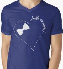 hello sweetie! Men's V-Neck T-Shirt