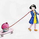 Cupcake girl by Kate Kingsmill