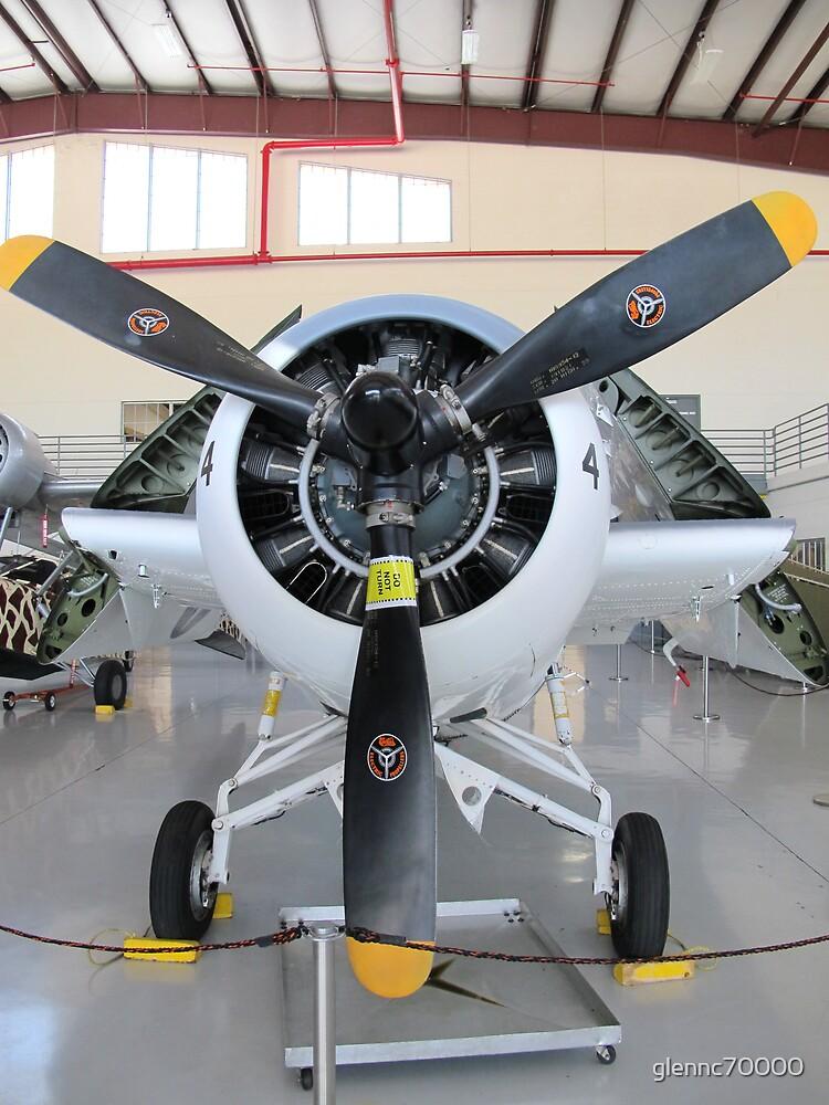 F4F - Wildcat folded up by glennc70000