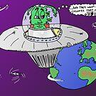 Colonize Earth cartoon by bubbleicious