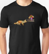 The Fox and the Vineyard Unisex T-Shirt