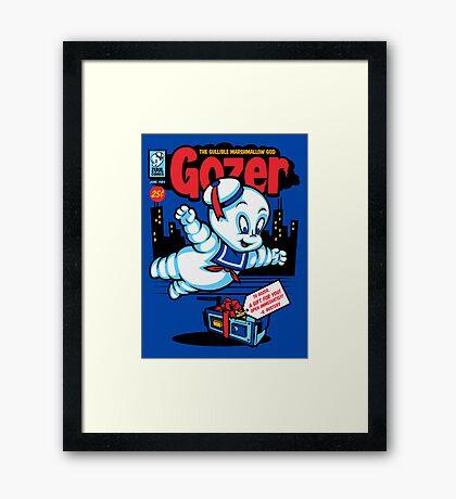 Gozer the Gullible God Framed Print