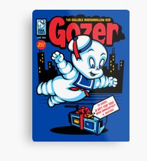 Gozer the Gullible God Metal Print
