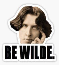 Be Wilde Sticker