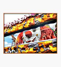 Prater Amusement Park in Vienna Photographic Print