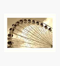 Ferries Wheel Art Print