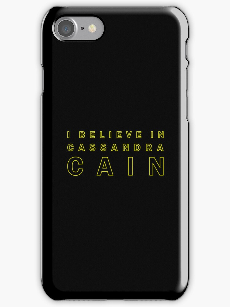 I Believe in Cassandra Cain by channingellison
