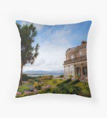 Bantry House & Garden Throw Pillow