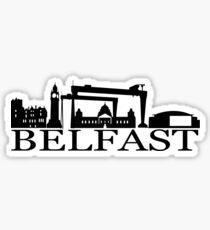 belfast city Sticker
