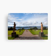 The view from Bantry House  Metal Print