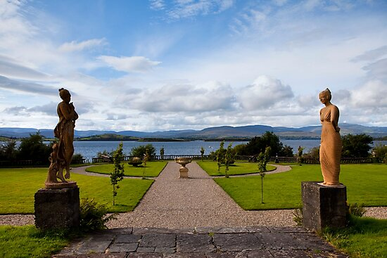 The view from Bantry House  by Béla Török
