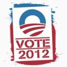 Vote Obama 2012 Women's T Shirt by ObamaShirt