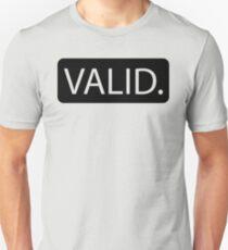 VALID Unisex T-Shirt