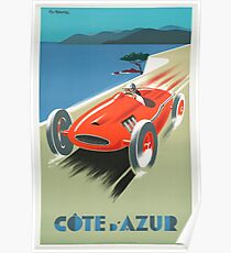 Vintage poster - French Riviera Poster