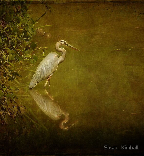 Afternoon on the Creek by Susan  Kimball