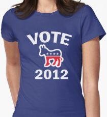 Vote Democrat 2012 T  Women's Shirt T-Shirt