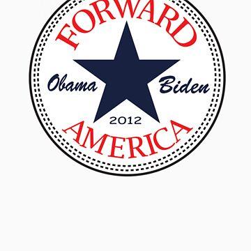 Obama Forward 2012 T Shirt by ObamaShirt