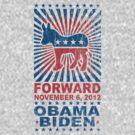 Obama Forward 2012 Women's Shirt by ObamaShirt