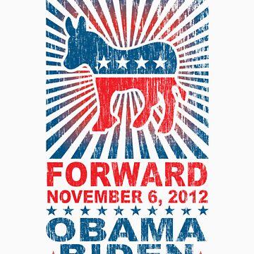 Obama Forward 2012 Shirt by ObamaShirt
