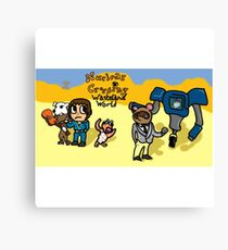 Animal Crossing - Wasteland World Canvas Print