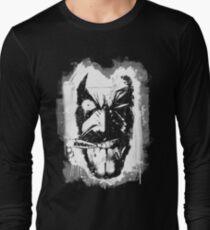 Lobo (w/ Grunge Background) Long Sleeve T-Shirt