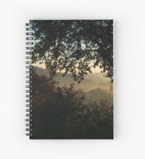Foggy view Spiral Notebook