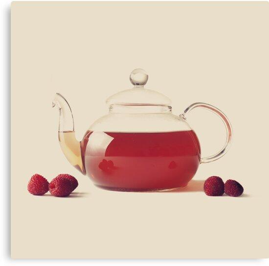 Raspberry Tea by Caroline Mint
