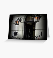 Baker Street 221B Greeting Card