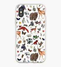 Wild Woodland Animals iPhone Case