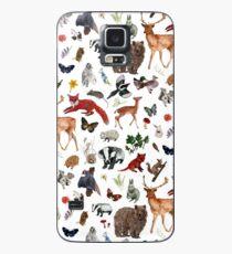Funda/vinilo para Samsung Galaxy Animales salvajes del bosque