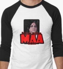 Mere paas maa hain (I have mum) Men's Baseball ¾ T-Shirt