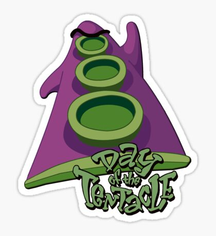 Day of the Tentacle Sticker